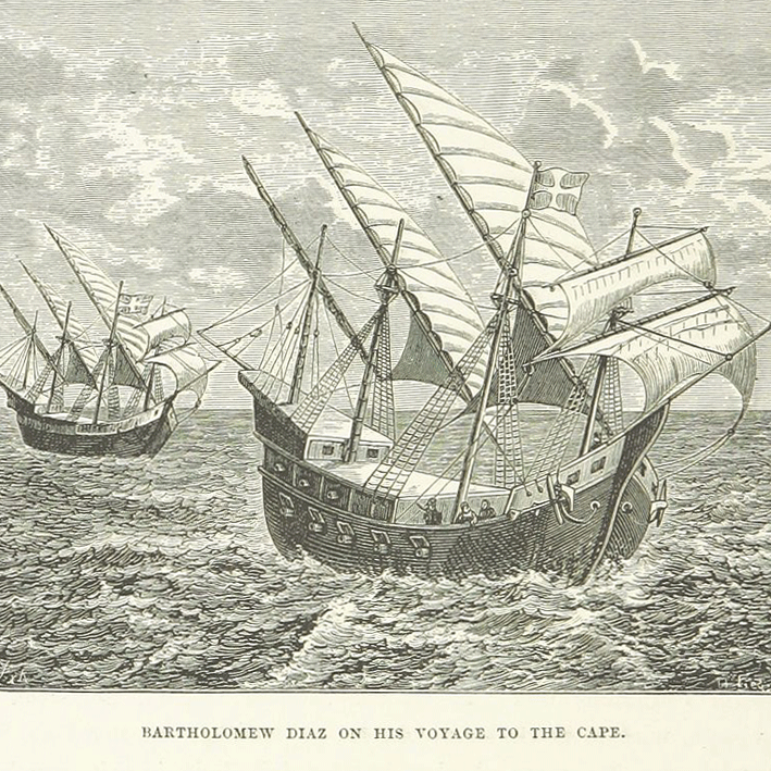 Bartholomew Diaz on this voyage to the Cape